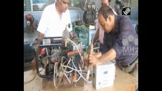 India News - Indian engineer develops first hydrogen powered automobile engine