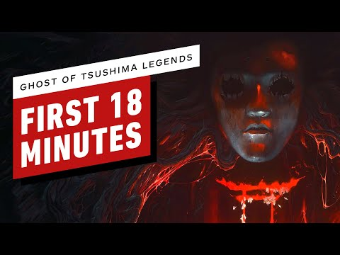 The First 18 Minutes of Ghost Of Tsushima: Legends