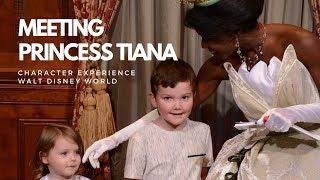 Meeting Tiana at Princess Fairytail Hall | Magic Kingdom | Walt Disney World
