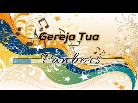 [Midi Karaoke] ♬ Panbers - Gereja Tua ♬ Versi 1 +Lirik Lagu [High Quality Sound]
