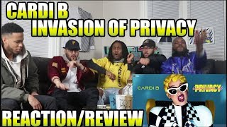 CARDI B - INVASION OF PRIVACY (FULL ALBUM) REACTION/REVIEW