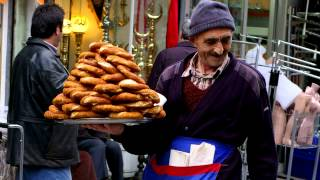 Simit (Turkish Bagel) - Turkey Eats Series 2012