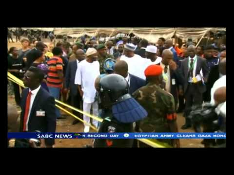 Nigeria is doing all they can to release bodies of the SA disaster victims