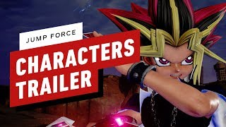Jump Force - Full Character Roster Trailer