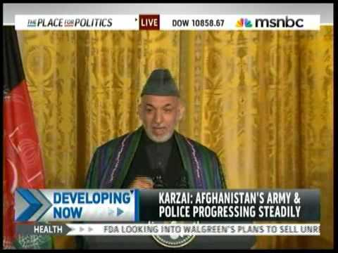 Obama/Karzai Press Conference Part 5 of 6