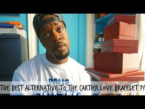 THE BEST ALTERNATIVE TO THE CARTIER LOVE BRACELET?!?!