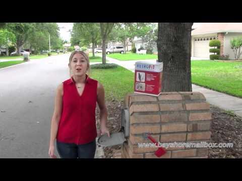 How To Repair A Brick Mailbox Door Www Bayshoremailboxco