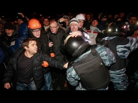 [FULL] Kiev Ukraine Protest 2014 | Cival War | Chaos | RAW Video HD