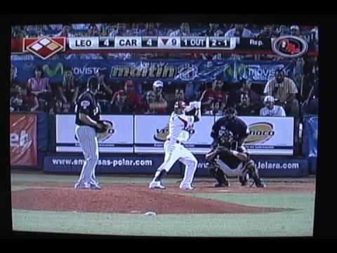 Segundo Juego de Cardenales Vs. Leones en el ROUND ROBIN de la temporada 2008-2009, juego ganado nuevamente por el Cardenales de Lara, en el 9no Inning, por ...