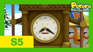 A Day With Wall Clock | Pororo S5 E22 | Kids Animation | Pororo the Little Penguin