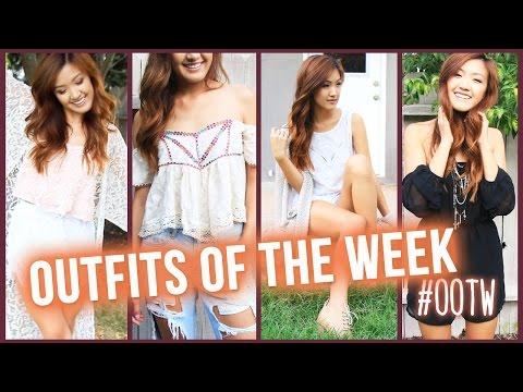 Back to School: Outfits of the Week! | ilikeweylie