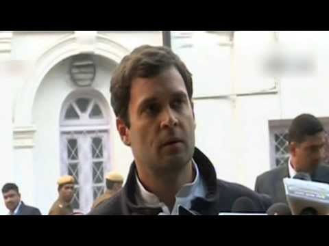 Congress Vice President Rahul Gandhi's statement to the media after the election results