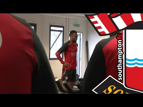 Southampton's players undergo pre-season testing