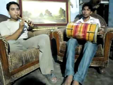 We Sone Diya Kangna Adnan Flute And Umer Dholak Player .flv video