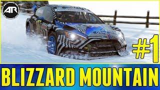 Forza Horizon 3 Blizzard Mountain Gameplay : Snow Driving & Drifting!!! (Part 1)