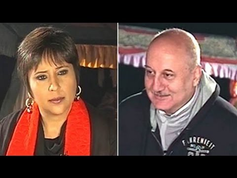 Anupam Kher's political shot in the valley