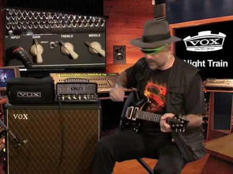 Ampli Vox Night Train par Judge Fredd (La Boite Noire)
