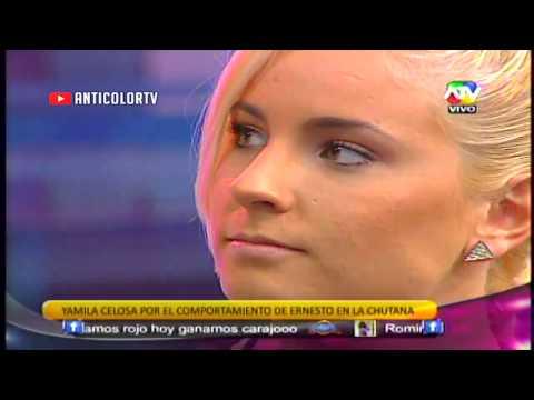 COMBATE Yamila Celosa y Molesta con Ernesto 28/10/13
