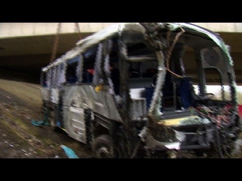 Teenagers among five dead in Belgium bus crash