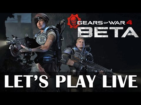 Gears of War 4 Beta - Live Xbox One gameplay