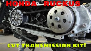 Honda Ruckus performance CVT transmission kit