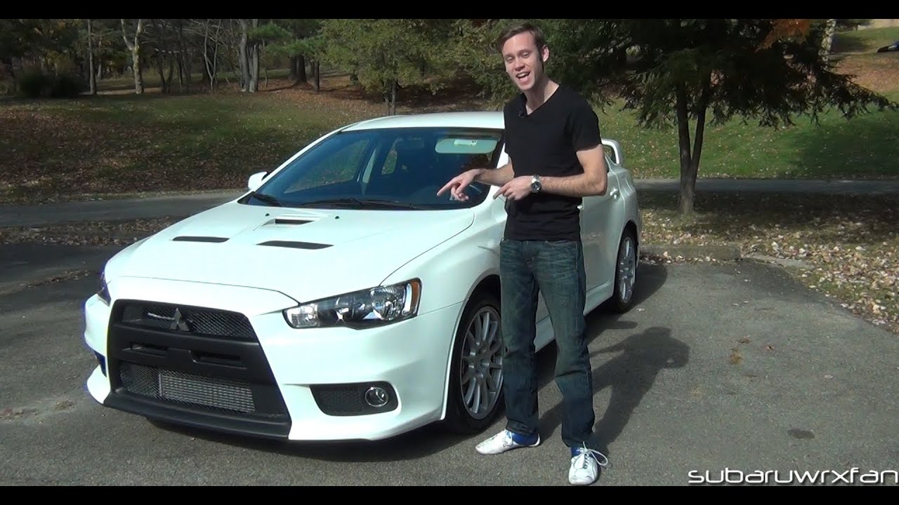Review 2013 Mitsubishi Lancer Evolution X Gsr Youtube