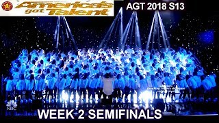 "Angel City Chorale ""The Rising"" SO BEAUTIFUL &OPTIMISTIC Semi-Finals 2 America"