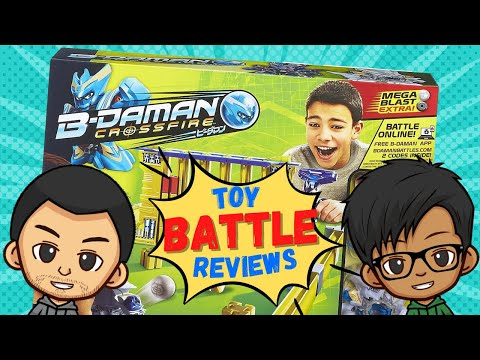 B-Daman Crossfire Break Bomber Battlefield! ~ Toy Battle Reviews