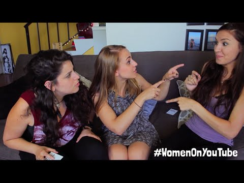 CARDS AGAINST HUMANITY CHARADES feat. Bria & Chrissy #WomenOnYouTube