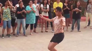 Odisha College Girls Dance | Prabhu Deva's 'Muqabla' Song |