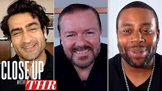 Comedy Actors Roundtable: Ricky Gervais, Kumail Nanjiani, Kenan Thompson, Dan Levy | Close Up