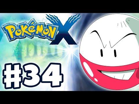 Pokemon X and Y - Gameplay Walkthrough Part 34 - Brun Way (Nintendo 3DS)