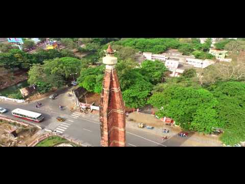 vijayawada aerial view video