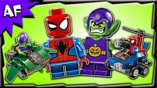 Lego Marvel Mighty Micros SPIDERMAN vs GREEN GOBLIN 76064 Stop Motion Build Review