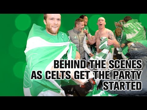 Behind the scenes as Celts get the party started!