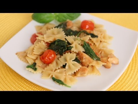 Bowties Florentine Recipe - Laura Vitale - Laura in the Kitchen Episode 564