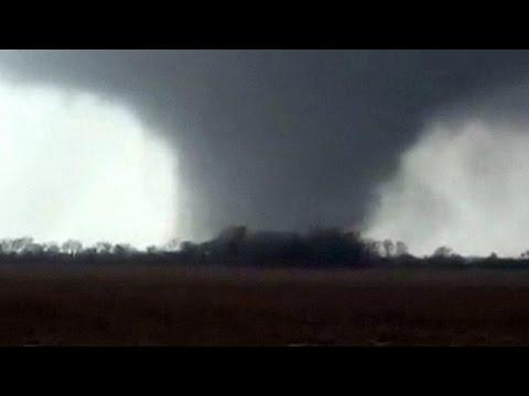 Tornados wüten in US-Bundesstaaten Indiana und Mississippi