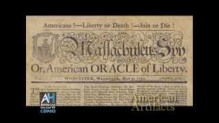 American Artifacts Preview: Revolutionary Era Printing