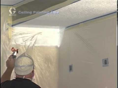 How to Paint a Ceiling with a Graco Magnum Paint Sprayer