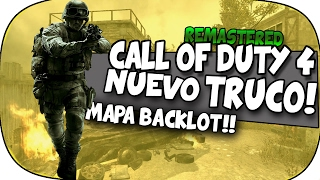 TRUCO COD4 REMASTERED!! MAPRA CRASH trucos y glitches #111 ||TRIKOSO||