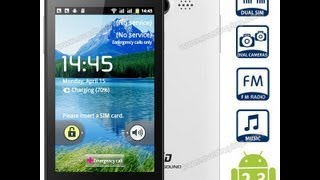 TSD a9300 3G Review con Root y Google Play. El movil de 50€