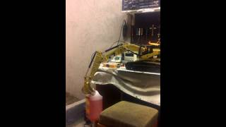 RC EXCAVATOR WEDİCO CAT 345 POWER TEST