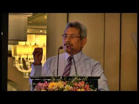 Gotabaya Rajapaksa Secretary- Ministry of Defence & Urban Development at Momentum 2014 (Part1)