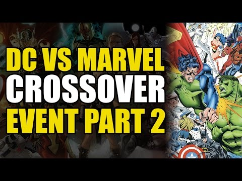 DC Versus Marvel Crossover - 002 - Wonder Woman Lifts Thor's Hammer