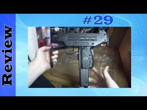 CyberGun Micro UZI Pistol Light Gun Review (Playstation 1 & 2)