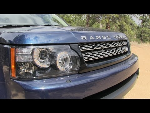 2013 Range Rover Sport Off-Road Drive and Review