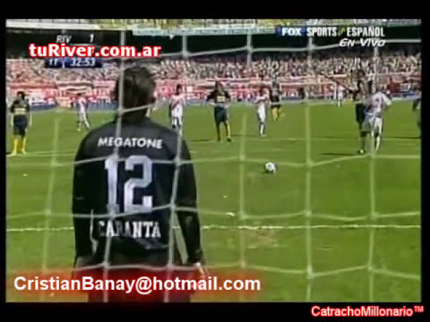 River 2 Boca 0 Apertura 2007 (Relato Sebastian Vignolo )