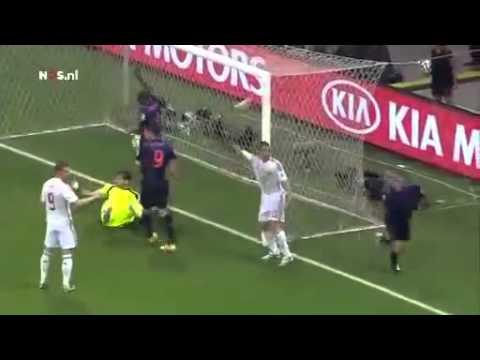 Nederland   Spanje Goals complilation   WK 13 juni 2014 Jack van Gelder nederland spanje