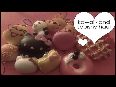 Kawaii Haul! [Squishies, Clay, & More!] How To Save Money And Do It Yourself!