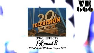 20th Century Fox Television (1965) Effects Round 3 vs VEHD, IVE135 and Everyone (3⁄7)